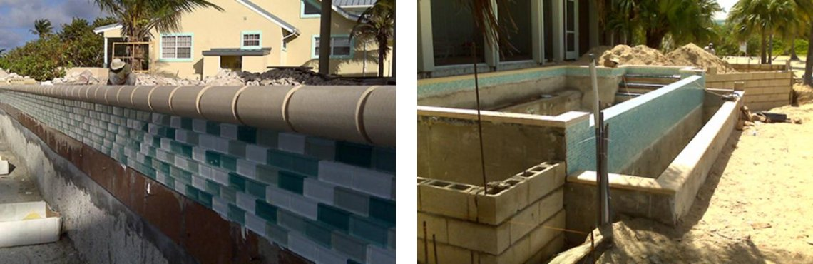 Tile & Coping Installation