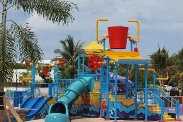 Ritz Carlton Splash Pad
